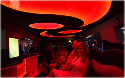 Key West Limo interior